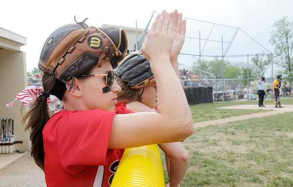 Don Knight | The Herald Bulletin<br /> Sectional championship between Shenandoah and Frankton at Lapel High School on Wednesday.