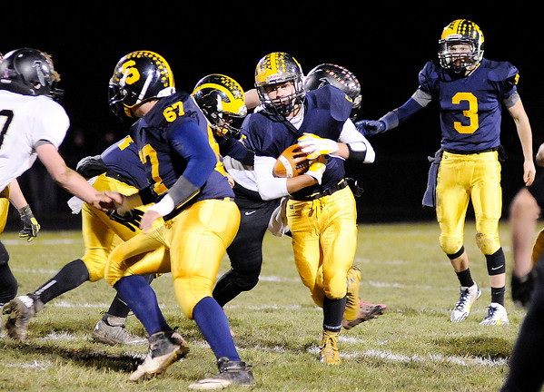 Don Knight | The Herald Bulletin<br /> Shenandoah hosted Winchester in the sectional final on Friday.