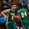 1/25/2016  TJ Dowling | St. Paul Catholic High School vs. Holy Cross High School<br /> <br /> Canon EOS 7D Mark II, EF70-200mm f/2.8L USM, @ f2.8, 1/400, ISO 5000
