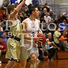 3/5/2018  TJ Dowling | St. Paul Catholic High School vs. Joel Barlow High School<br /> <br /> Division III State Playoffs, Round 1 <br /> <br /> <br /> Canon EOS 7D Mark II, EF70-200mm f/2.8L USM, 110mm, @ f2.8, 1/800, ISO 8000