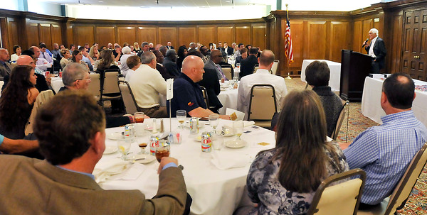 John P. Cleary   for The Herald Bulletin<br /> The 2016 Johnny Wilson Awards luncheon.