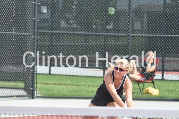 Girls tennis: Clinton-Bettendorf, state quarterfinals