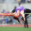"2013_06_07__Vermilion's Hannah Bartlome clears 5' 3"" for 3rd place at the OSHAA state track meet in Columbus, OH. photo by Ray Riedel"