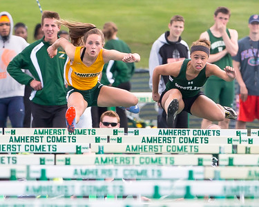 Amherst finishes strong second at SWC meet