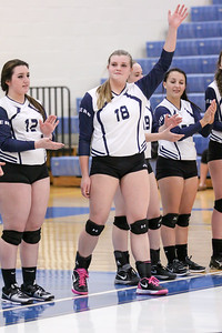 Twinsburg High School Volleyball Game