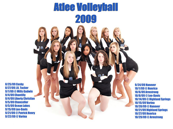 Atlee Volleyball 2009