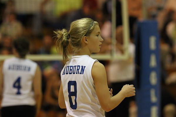 Auburn vs James River - Volleyball - 9-19-2011