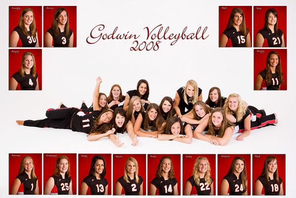 Godwin Varsity Volleyball 2008