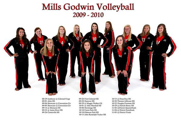 Godwin Volleyball 2009