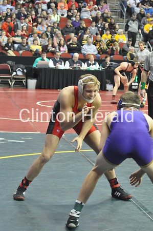 Saturday at Iowa state wrestling meet (2-21-15)