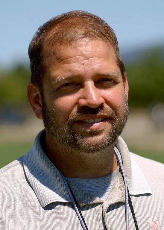 . Novi High School football head coach-- Tab Kellepourey.  Photo taken on Tuesday, August 15, 2006, at Novi HS in Novi, Mich.  (The Oakland Press/Jose Juarez)