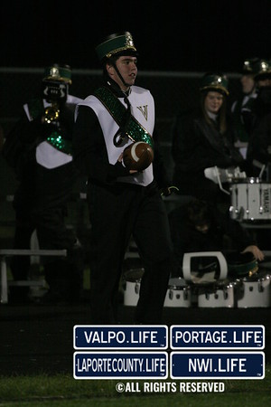 VHS Band Photos- Football vs Lake Central 2009