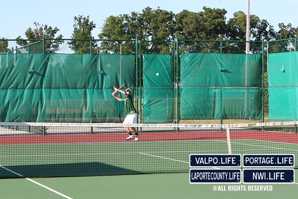 VHS Tennis vs  Lake Central (10)