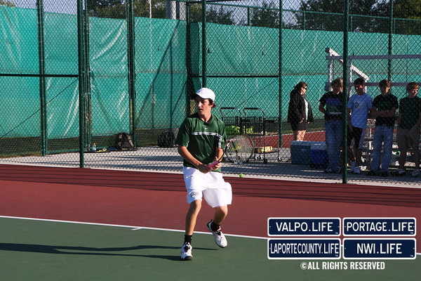 VHS Tennis vs. Lake Central 2009