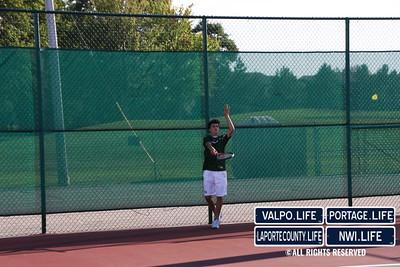 VHS Tennis vs  Lake Central (101)