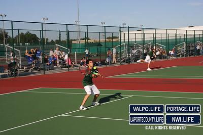 VHS Tennis vs  Lake Central (102)