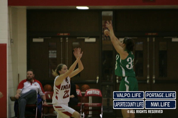 Girls Basketball vs Portage 2010