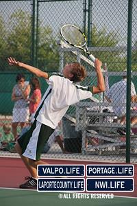 VHS Boys Tennis vs. Munster 2011