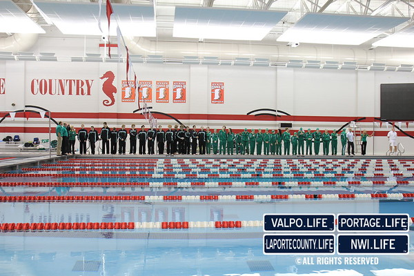VHS Boys and Girls Swimming at Munster 2011