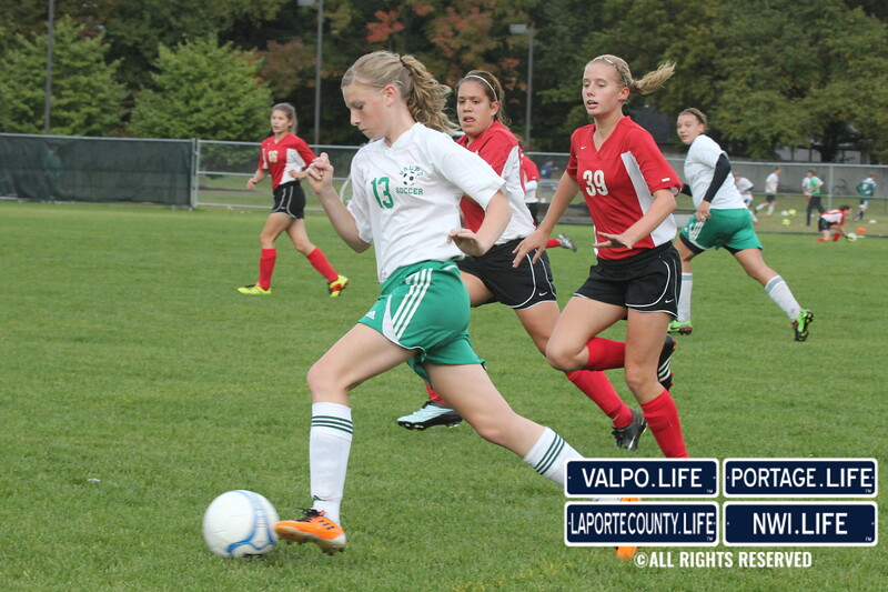 VHS JV Girls Soccer vs Portage 2011 (41)