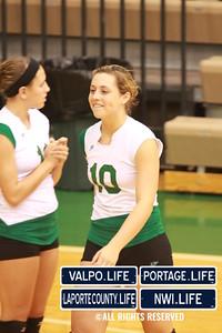 VHS Varsity Volleyball vs Portage 2011 (76)