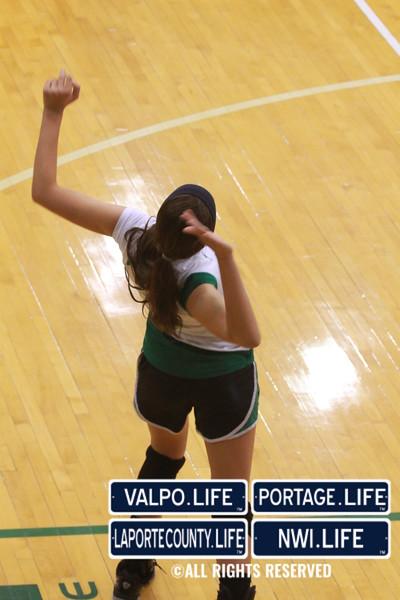 VHS Varsity Volleyball vs Portage 2011 (60)