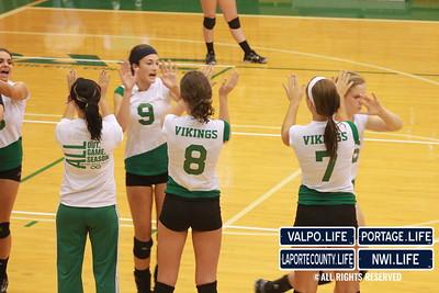 VHS Varsity Volleyball vs Portage 2011 (86)
