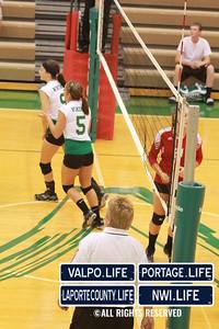 VHS Varsity Volleyball vs Portage 2011 (87)
