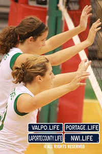 VHS Varsity Volleyball vs Portage 2011 (99)