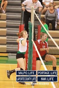 VHS Varsity Volleyball vs Portage 2011 (101)