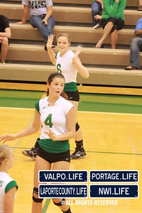 VHS Varsity Volleyball vs Portage 2011 (102)
