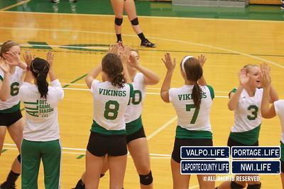 VHS Varsity Volleyball vs Portage 2011 (85)