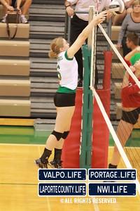 VHS Varsity Volleyball vs Portage 2011 (100)