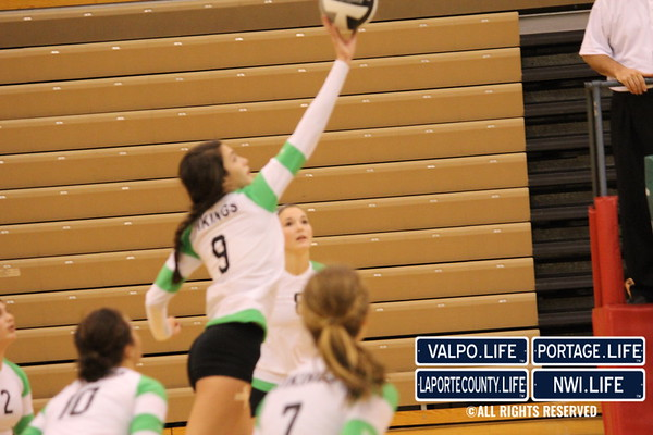 VHS Volleyball Sectional Championship 2012 vs Michigan City