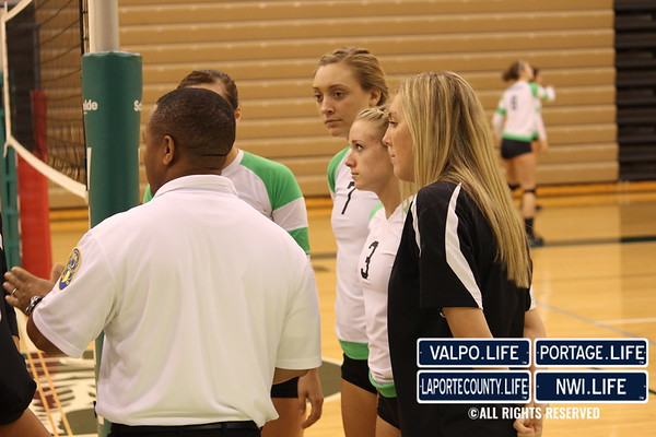 VHS Volleyball Sectional Semifinal vs Crown Point 10-20-12
