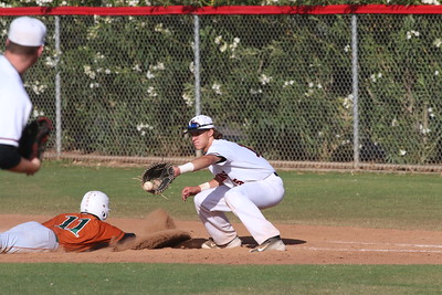 2015 Williams Field Baseball vs Campo Verde 4-9-15