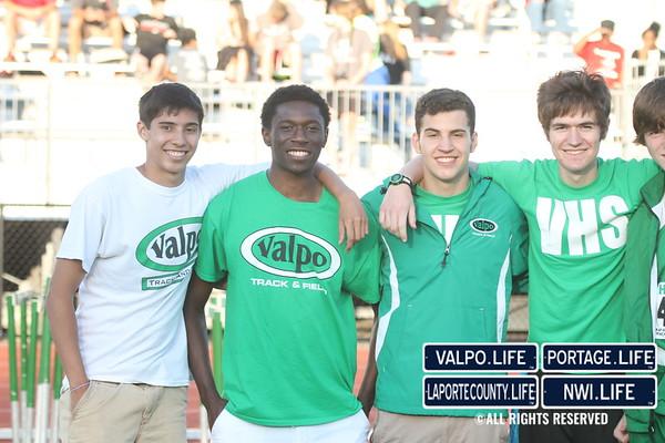VHS Boys Track & Field Regionals 2014