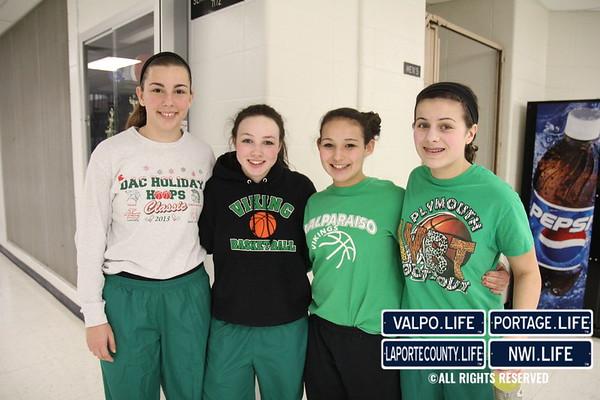 VHS Girls Basketball at Michigan City 01-17-14
