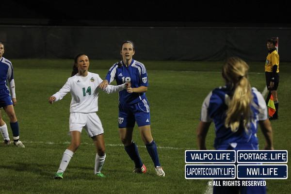 VHS v. LCHS Girls Soccer 10-16-13