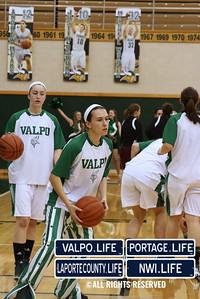 Valpo Girls Basketball vs Chesterton 12-20-2013
