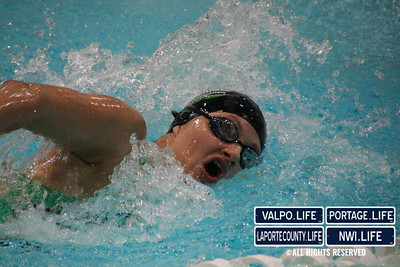 Chesterton Swimming & Diving vs. Valparaiso 2014