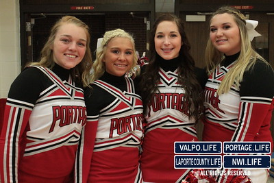 La Porte at Portage Girls Basketball 2014