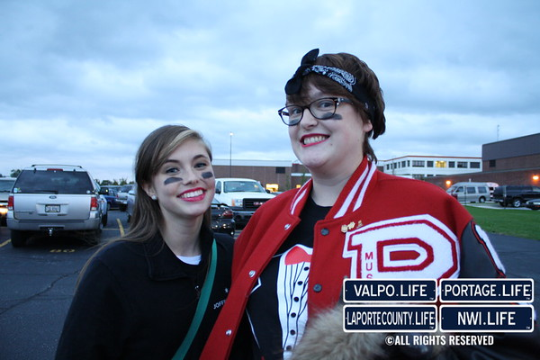 Michigan City at Portage Football 2014
