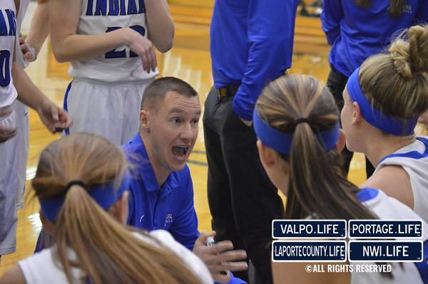 Penn vs. Lake Central Girls Basketball Regional