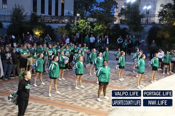 Valparaiso High School Homecoming Pep Rally 2014