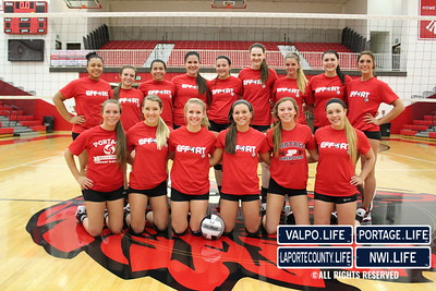 Valparaiso at Portage (High School Volleyball)