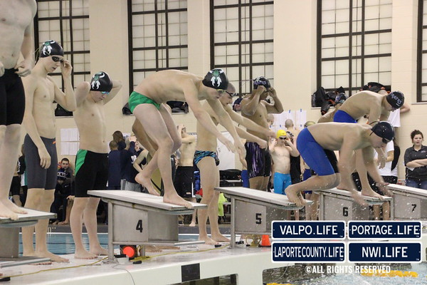 2016 Boys High School Swim/Dive Sectional Preliminaries