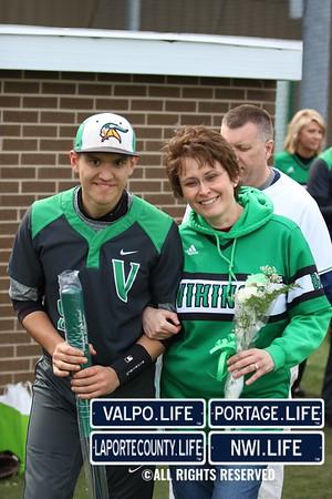 2016 Varsity Baseball - Valpo vs Portage