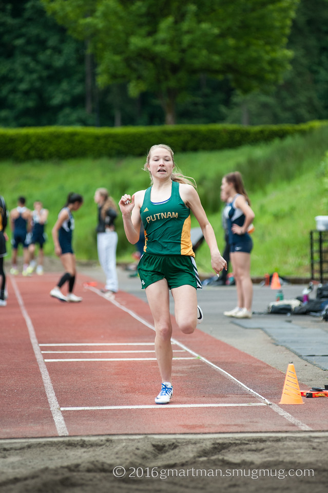 2016 Track vs. Putnam, St. Helens and McMinnville