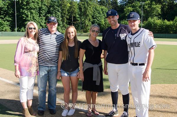 2016 Varsity Baseball vs. Parkrose - Senior Day